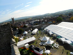 Early morning at Ludlow Festival